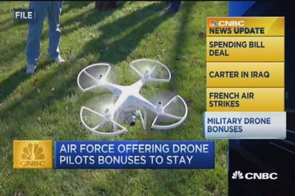 CNBC update: Drone bonuses
