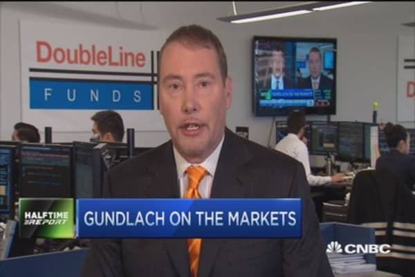 Gundlach: Fed will raise rates only to deliver promise