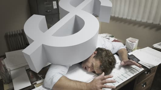 Man in debt