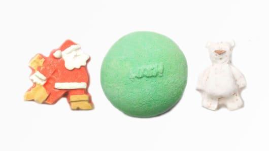 LUSH bath bombs