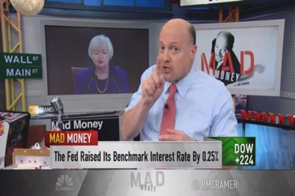 Cramer: That was it, Fed? Juicy stocks to watch
