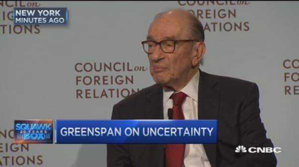 Alan Greenspan on market uncertainty