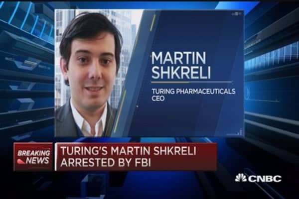 Cramer on Turing Pharmaceuticals CEO, Martin Shkreli
