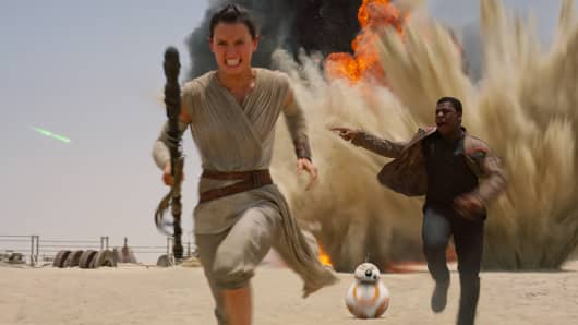 "An image from ""Star Wars: The Force Awakens"""