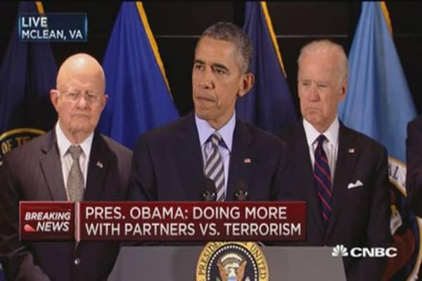 Pres. Obama: We are preventing terrorists from entering the US