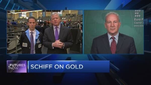 Peter Schiff: Gold is still going to $5,000