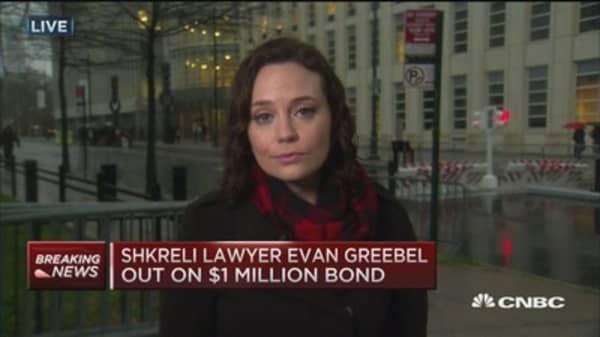 Shkreli out on $5 million bail