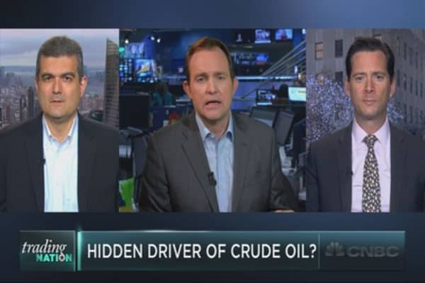 Crude oil's secret driver?