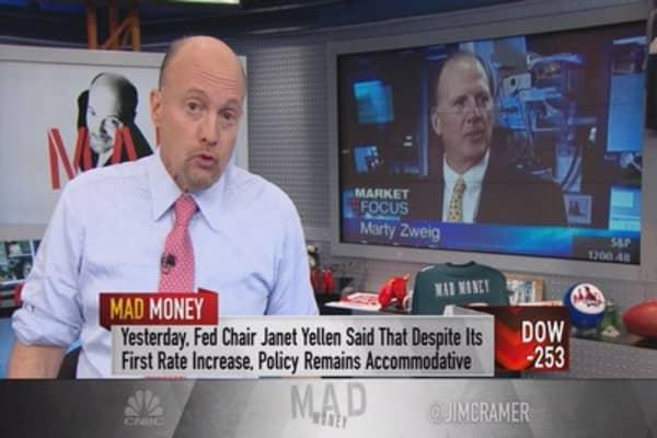 Cramer: Be skeptical of any upward market moves