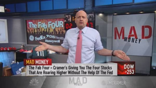 Cramer: Companies loved by the market—here's why