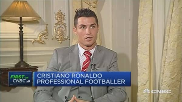 Ronaldo: Soccer star and hotelier