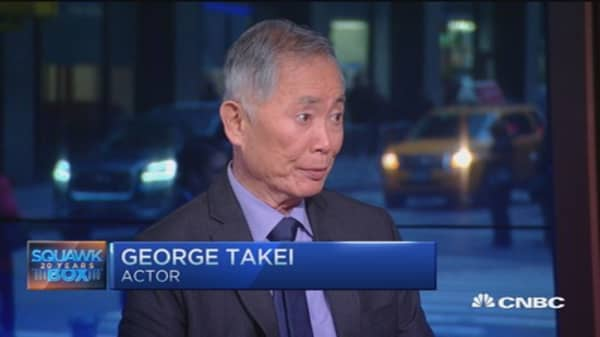 'Allegiance' actor Takei: Anti-Muslim sentiment 'chilling'