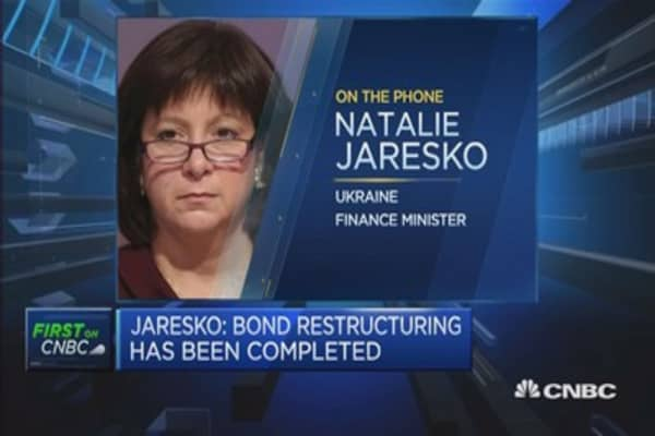 Ukraine 'committed' to finding resolution on Russia bond