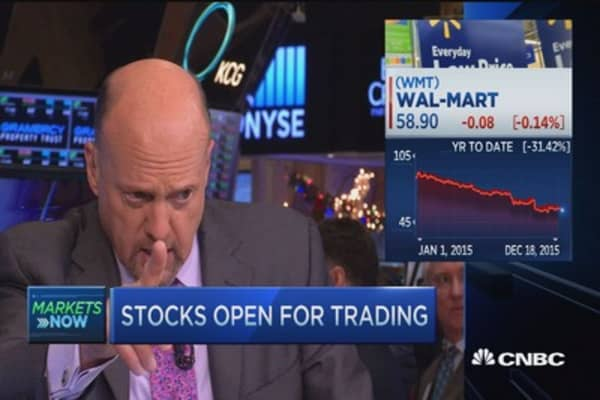 Cramer: 'The age of Walmart' is back
