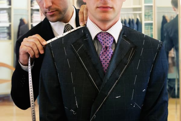 Custom suit tailor