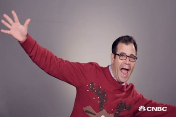 CNBC celebrates Ugly Sweater Day