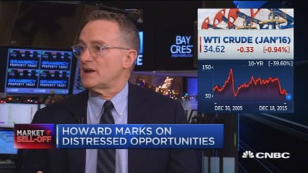 Howard Marks: Risky but potential opportunities in oil