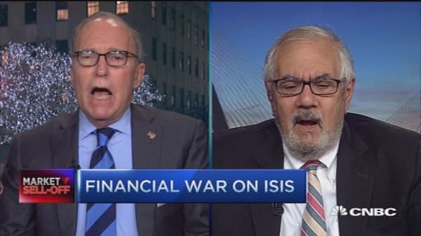 Kudlow & Sanders: Taking financial fight to ISIS