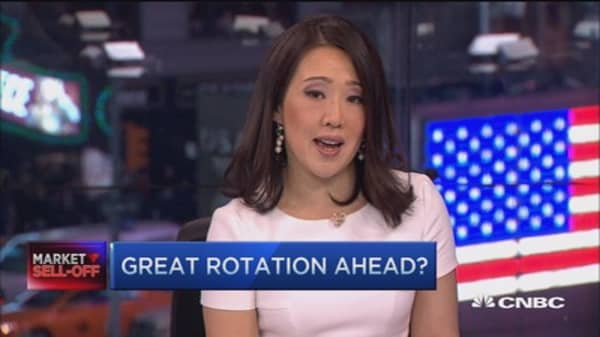 The 'great rotation' Wall St. has been waiting for