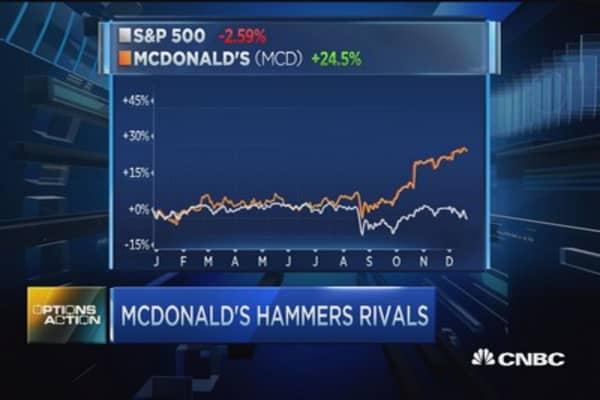 McDonald's run done?