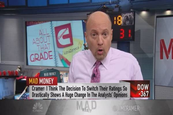 Cramer: When analysts do THIS, it's time to move