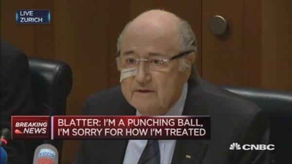 FIFA's Blatter: I'm sorry for soccer