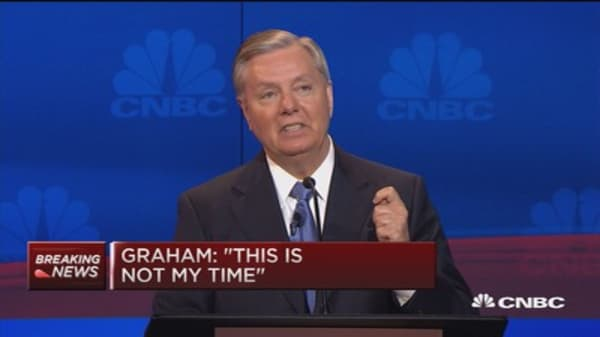 Lindsey Graham drops out of presidential race