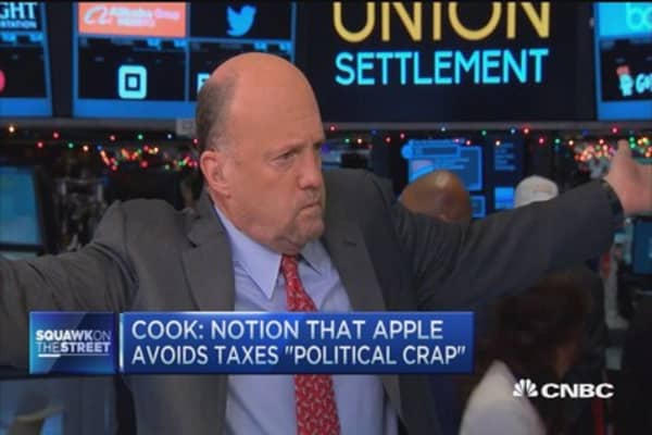 Cramer: Tim Cook is not doing anything wrong on taxes