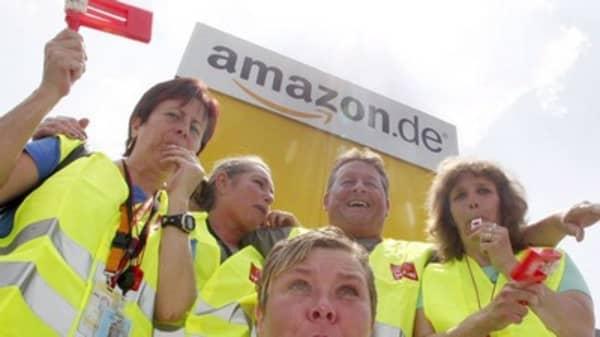 More strikes at Amazon warehouses