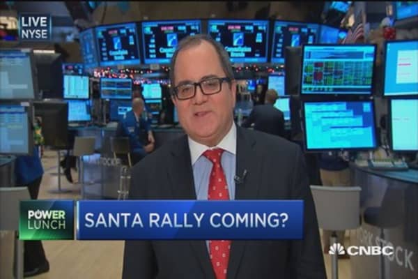 Year-end rally to follow Santa?