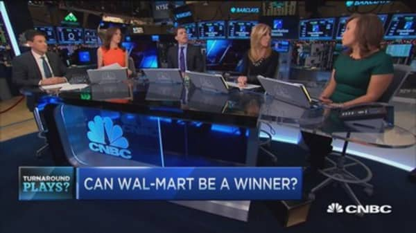 Wal-Mart a turnaround play?