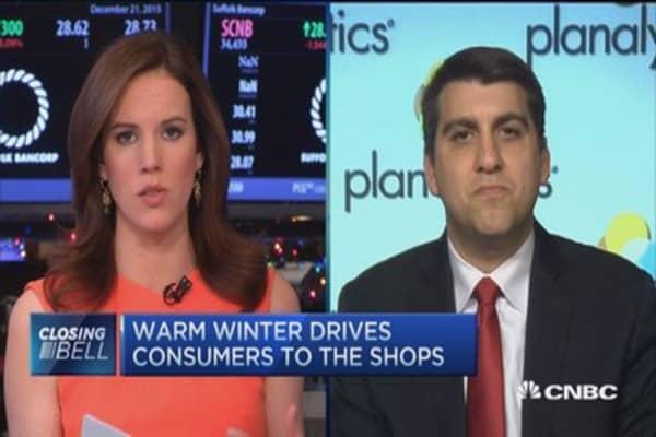 Warm winter stock winners