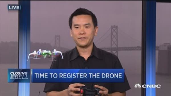 Register your drone in a few minutes