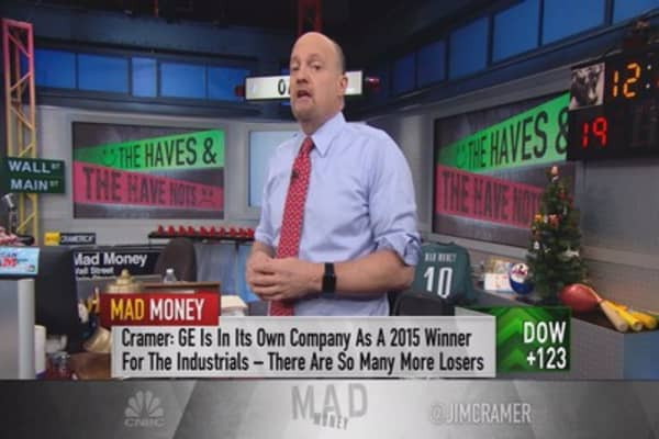 Cramer: Year of haves & have-nots