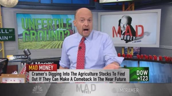 What's wrong with agriculture? Cramer answers