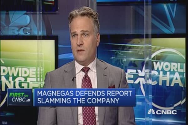 We refute claims in report: MagnesGas CEO