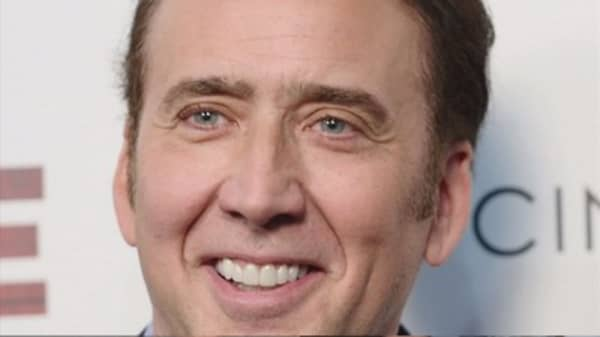 Actor Nicolas Cage returns stolen dinosaur skull he bought
