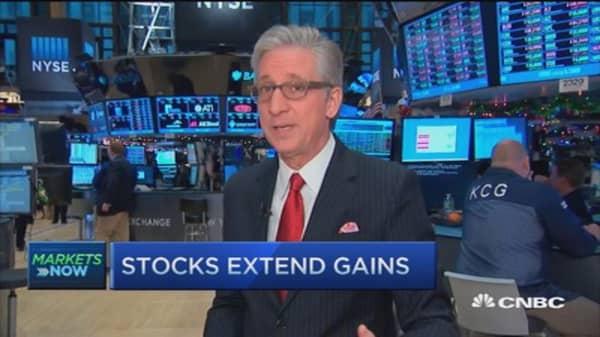 Pisani's market extends gains