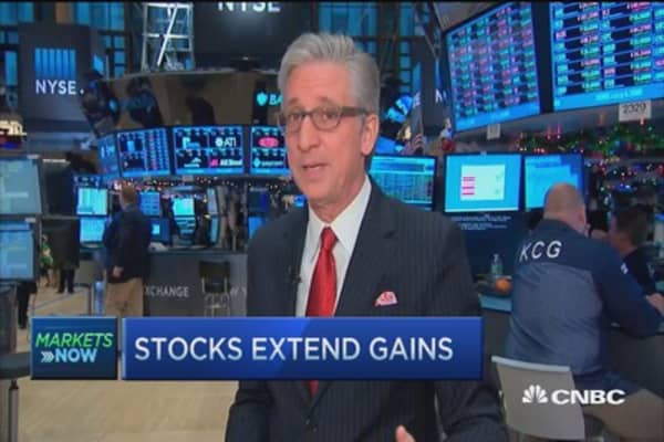 Pisani's market extends gains