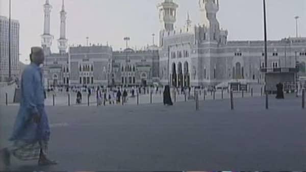 Saudis shoots down Yemeni missile