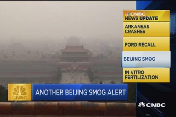 CNBC update: Beijing smog