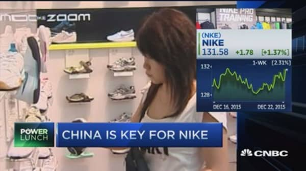 Nike earnings ahead; China, dollar & margins