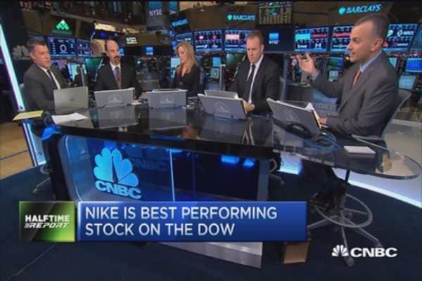 Traders talk Nike ahead of earnings