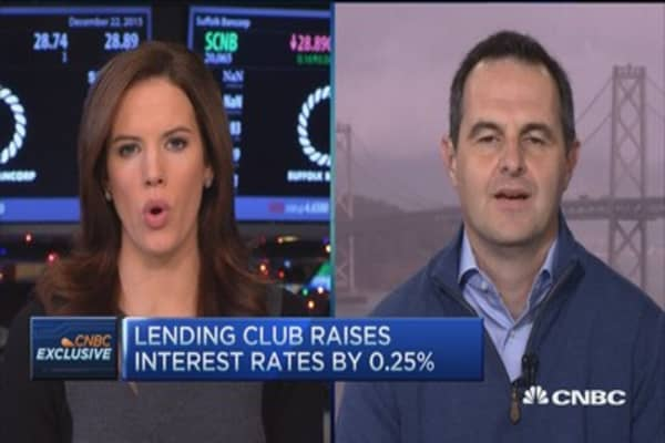 Lending Club raises interest rates by 0.25%