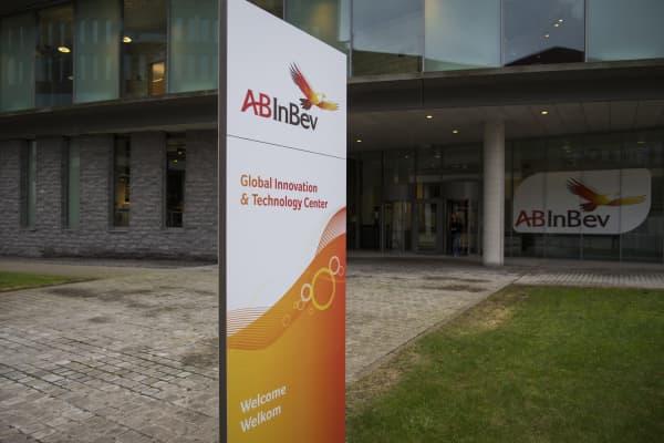 The Anheuser-Busch InBev NV headquarters in Leuven, Belgium