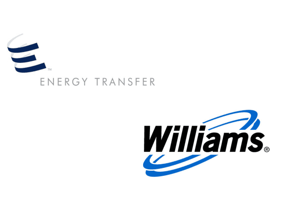Energy Transfer and Williams logos
