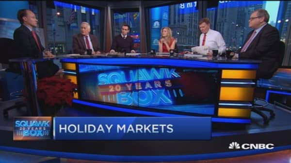 96% chance of up market next year: Tobias Levkovich