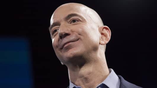 Jeff Bezos, Amazon.com founder and CEO