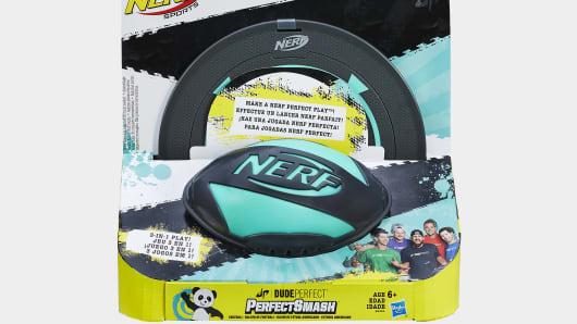 Nerf Dude Perfect Perfect Smash Football