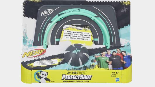 Nerf Dude Perfect Perfect Shot Hoops Set